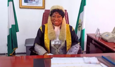 he first female Speaker of the Edo State House of Assembly Elizabeth Ativie,