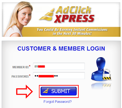 Cara Dapet Dollar Gratis Dari Add Click Xpress