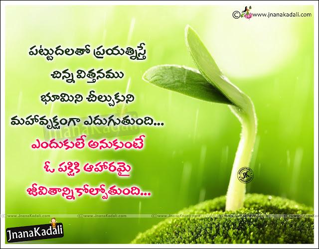 telugu success quotes, Telugu quotes on life, best life thoughts in Telugu, Telugu manchimaatalu