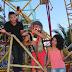 Repórteres da Web Interativa aceitam desafio e encaram roda gigante do 'Kade Park'