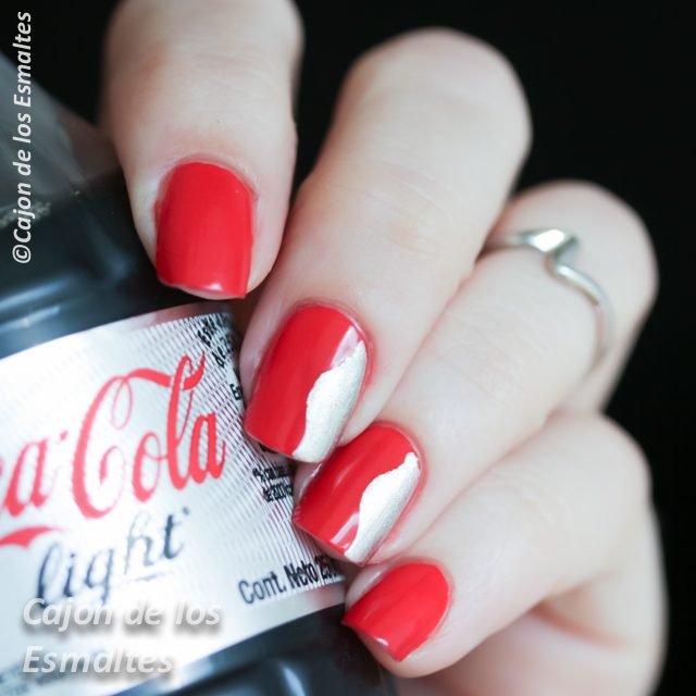 OPI - Coca cola red y My Signature is DC
