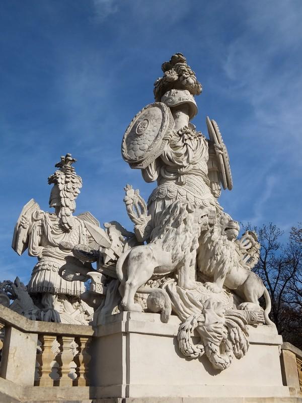 Vienne Wien château schönbrunn schloss parc gloriette