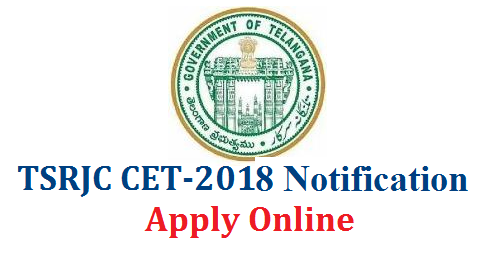 #TSRJC 2018 Notification TS Residential Colleges Admission Entrance Test Notification #Online Application Form TSRJC Entrance Exam Dates #Download Hall Tickets #Results TSRJDC Website Fee Particulars Information Bulletine for TSRJC 2018 Eligibility for TSRJC Entrance Test