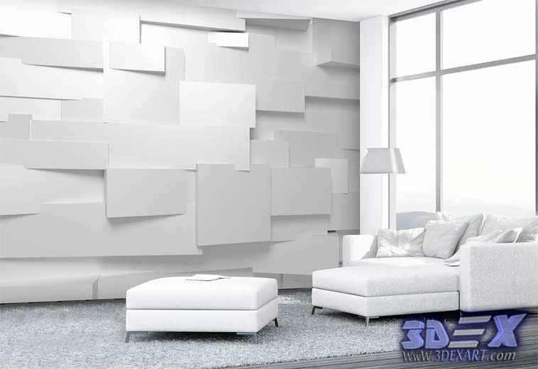 Decorative Interior Plastering : Modern d decorative wall panels and covering texture