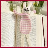Marca páginas conejo