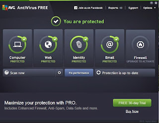 AVG Anti virus effective and excellent