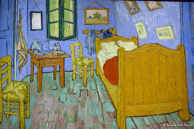 Van Gogh, La Habitación de Arles - Art Institute, Chicago por El Guisante Verde Project