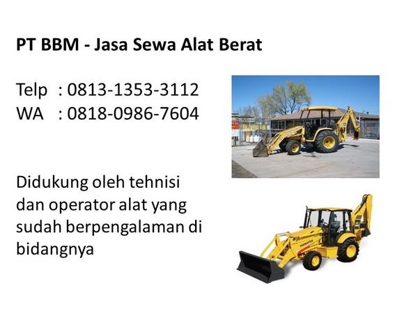 rental excavator pc75 bandung dan jakarta