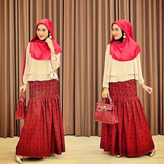 Model Busana Muslim Wanita Pesta Modern