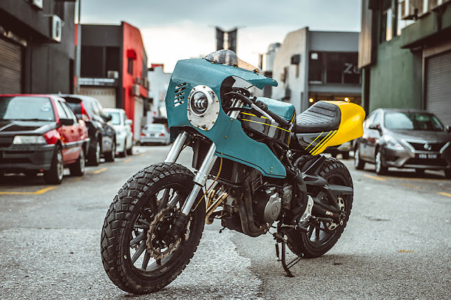 Unique Cafe Racer Kit For Benelli TNT 300 By Beautiful Machines