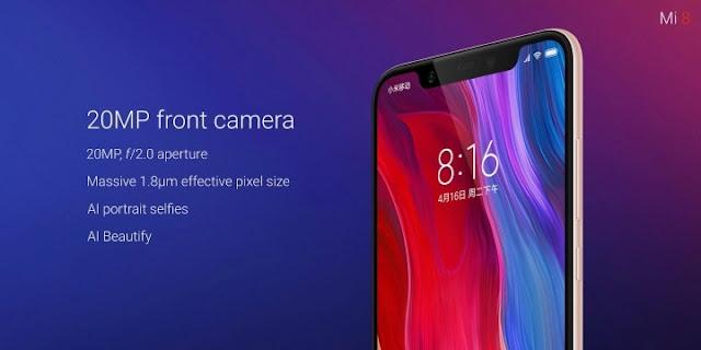Resmi Diluncurkan! Xiaomi Mi 8 Ini Spesifikasi dan Harganya