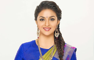 Keerthy Suresh with Cute and Lovely Smile in AVR Jewellers Ad Shoot Images