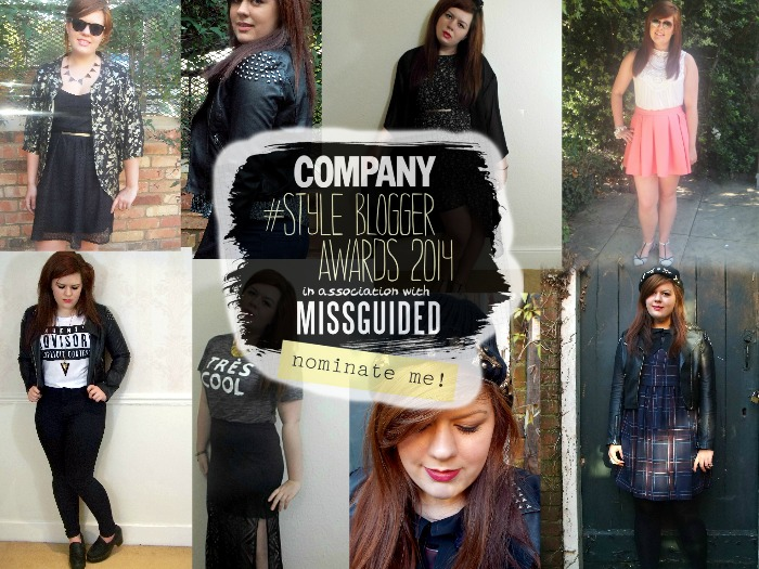 Vote, Fashion Is Our Religion, Company Style Blogger Awards 2014, Blogger award nomination