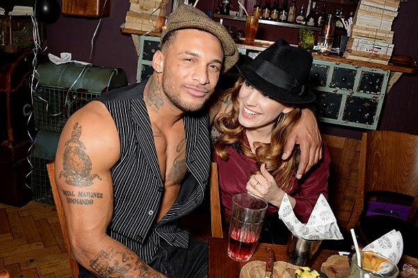 Kelly Brook and David McIntosh engaged