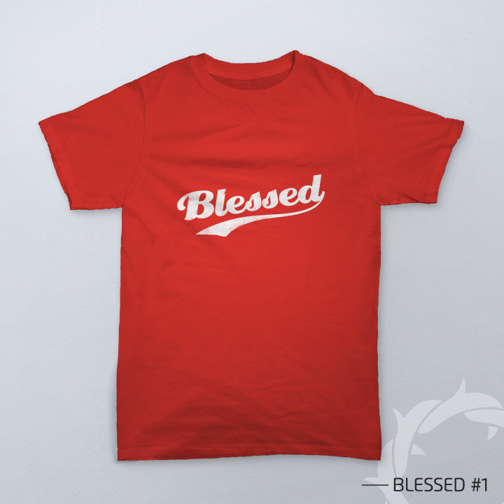 preview kaos rohani 'Blessed' by teesalonika