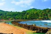 Wisata Pantai Batu Bengkung Malang 2