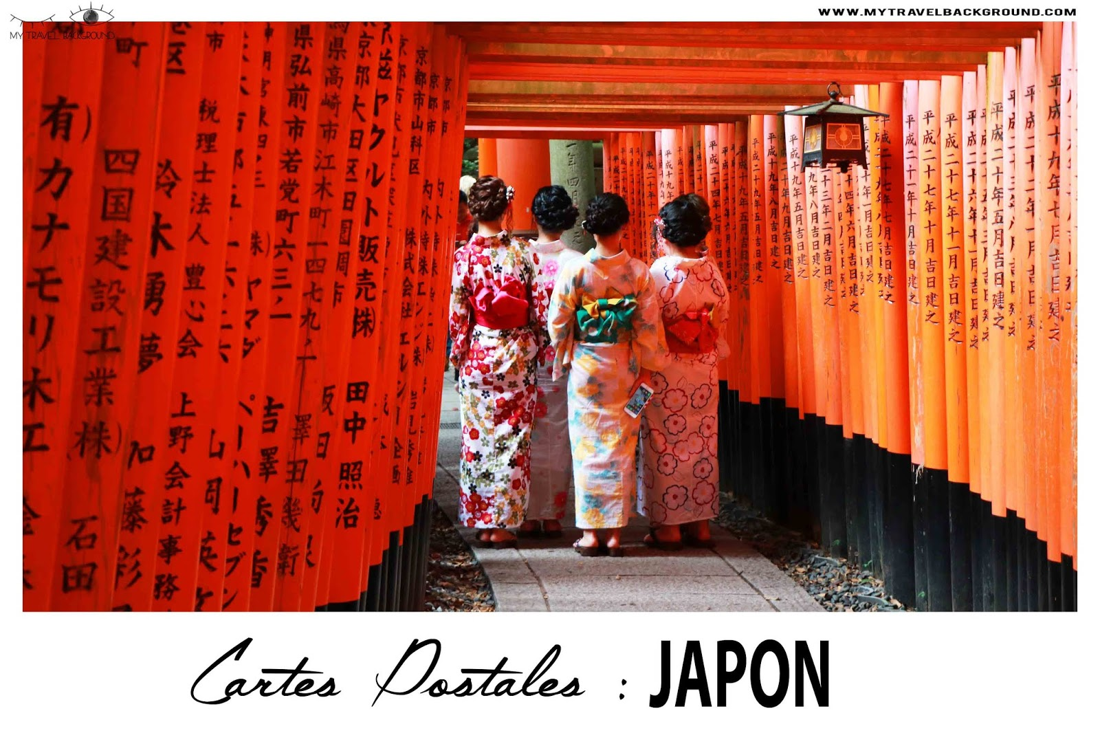 My Travel Background : cartes postales du Japon
