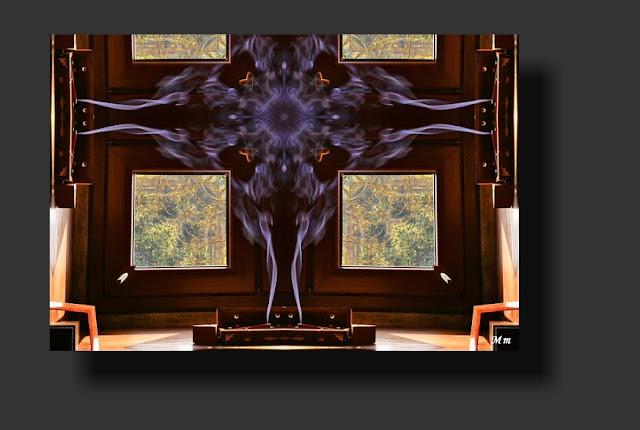 fotos reflejadas, fotos de mandalas, arte digital