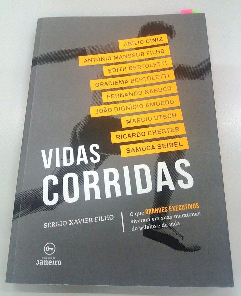 Livro Vidas Corridas de Sérgio Xavier Filho