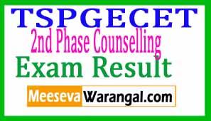 Telangana TSPGECET 2nd Phase Counselling