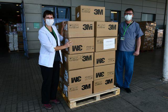 Hospital Puerto Montt recibe más de 15 mil mascarillas KN95