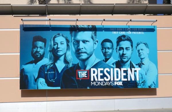 Resident season 2 billboard