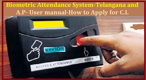 Biometric Attendance System- Telangana and A.P-User manual- How to apply for C. L Bio Metric Attendance user manual |How to Apply For Casual Leave CL in Bio Metric System AEBAS @apghstwg.attendance.gov.in | How to Register on AEBAS Bio Metric Attendance | How to apply CL in Biometric Attendance | Bio Metric Attendance Sysytem is going to be introduced in Andhra Pradesh as well as in Telangana | Teachers also have to Apply for Leave Casual Leave Medial Leave and any other on Online How to Apply For Leave in Bio Metric System AEBAS @hapghstwg.attendance.gov.in how-to-apply-for-casual-leave-cl-in-bio-metric-system-aebas-hapghstwg | Teachers and Syudents Attendance should be recorded in Bio Metric Machines by the Teachers/2017/07/biometric-user-manual-how-to-apply-for-casual-leave-cl-in-bio-metric-system-aebas-hapghstwg-telanagana-AP.html