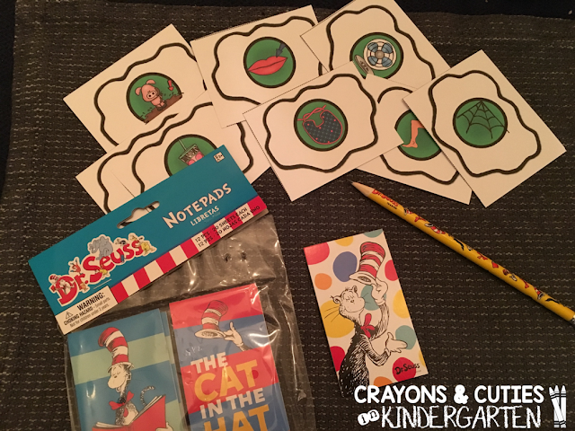 My Kids LOVE Writing In Mini Notepads When We Do Read The Room Center So I Figured They Will Love Using These Dr Seuss And Special Pencils To