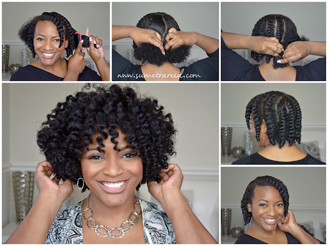 Easy Chunky Flat Twist-Out Tutorial For Natural Hair