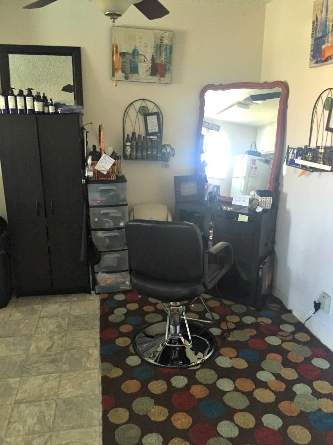 The Holland House: Air Bnb Hair Salon