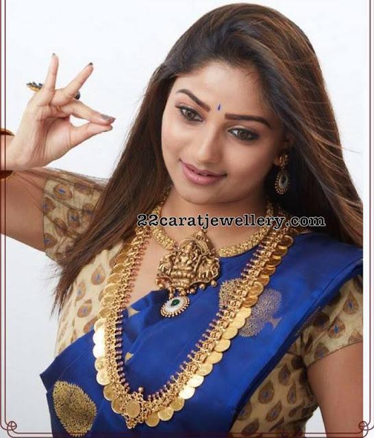 Rachita Ram Showcasing Traditional Jewelry