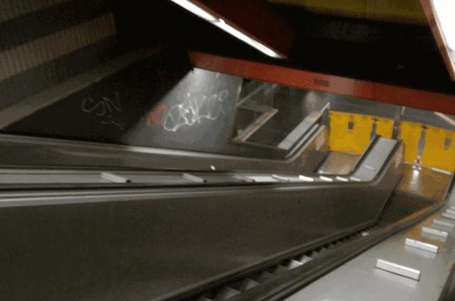 La psicosi delle scale mobili