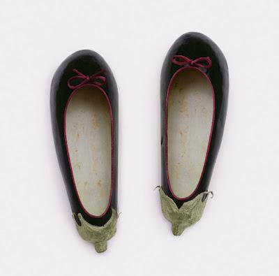 zapatos y berenjenas