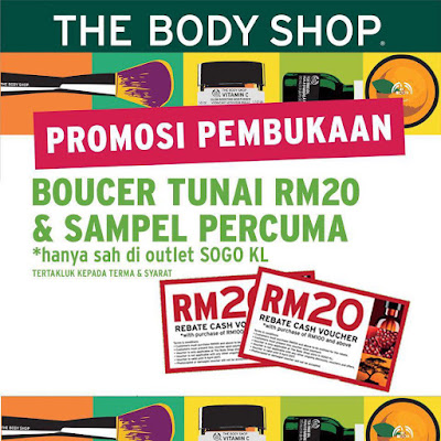 The Body Shop Malaysia Free Cash Vouchers & Samples