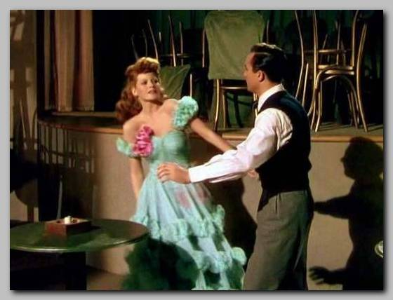 Rita Hayworth Gene Kelly Cover Girl 1944 Cover Girl 1944 movieloversreviews.filminspector.com