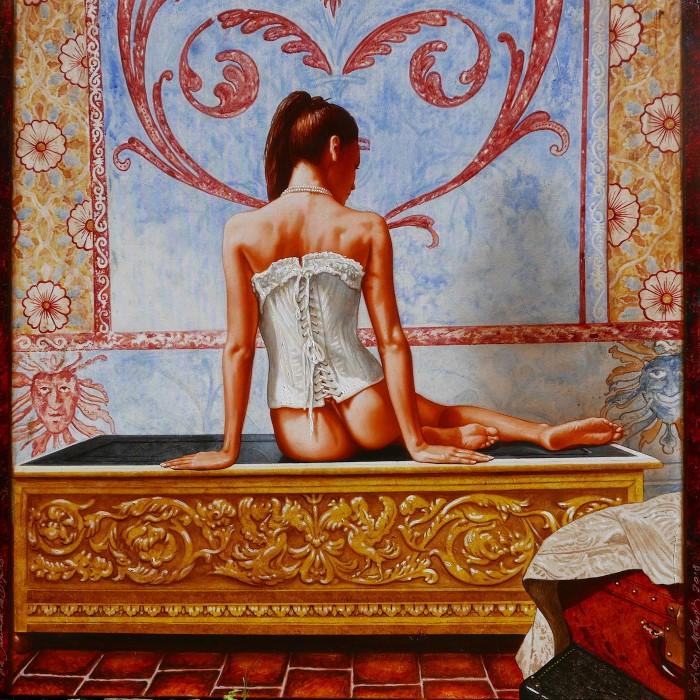 Французский художник. Anton Molnar
