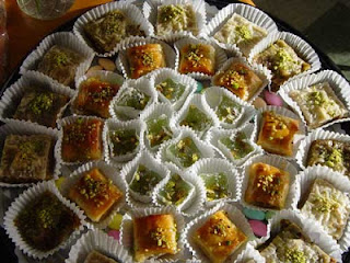 These are the recipes that we at Pars Market remember from childhood: golden Baklava, rich in walnuts, honey and crisp fillo, that actually melts in your mouth; sweet Namoura, soft and chewy, infused with coconut; pistachio-filled Ballourie, lightly baked shredded fillo, lightly sweetened; buttery Mamoul, soft and stuffed with dates, walnuts or pistachios.  Our pastry and sweet selections are filled with the sweet results of recipes created in the lands of our ancestors a thousand years ago and perfected by generations of bakery artisans.  But we could not call Pars an International Market if we limited our sweet tooth to just one tradition. That is why you will find pastries of many origins and flavors in our cases: rich Italian cookies, muffins bursting with berries, flaky croissants, buttery Danish and mouth-watering tortes.