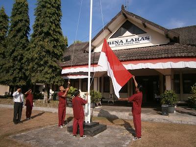 Upacara Bendera Memperingati HUT RI ke-72 di Balai RSBKL Yogyakarta Berlangsung Khidmat