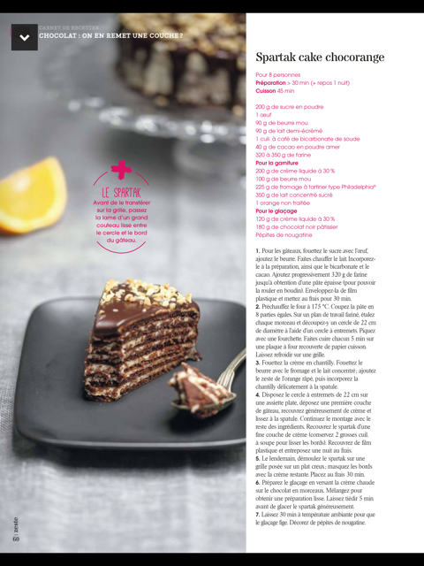 chocolat , zeste magazine