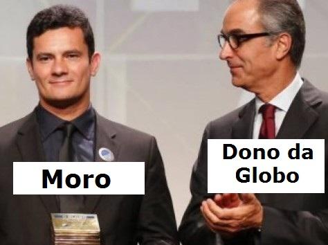 Resultado de imagem para Moro e Globo