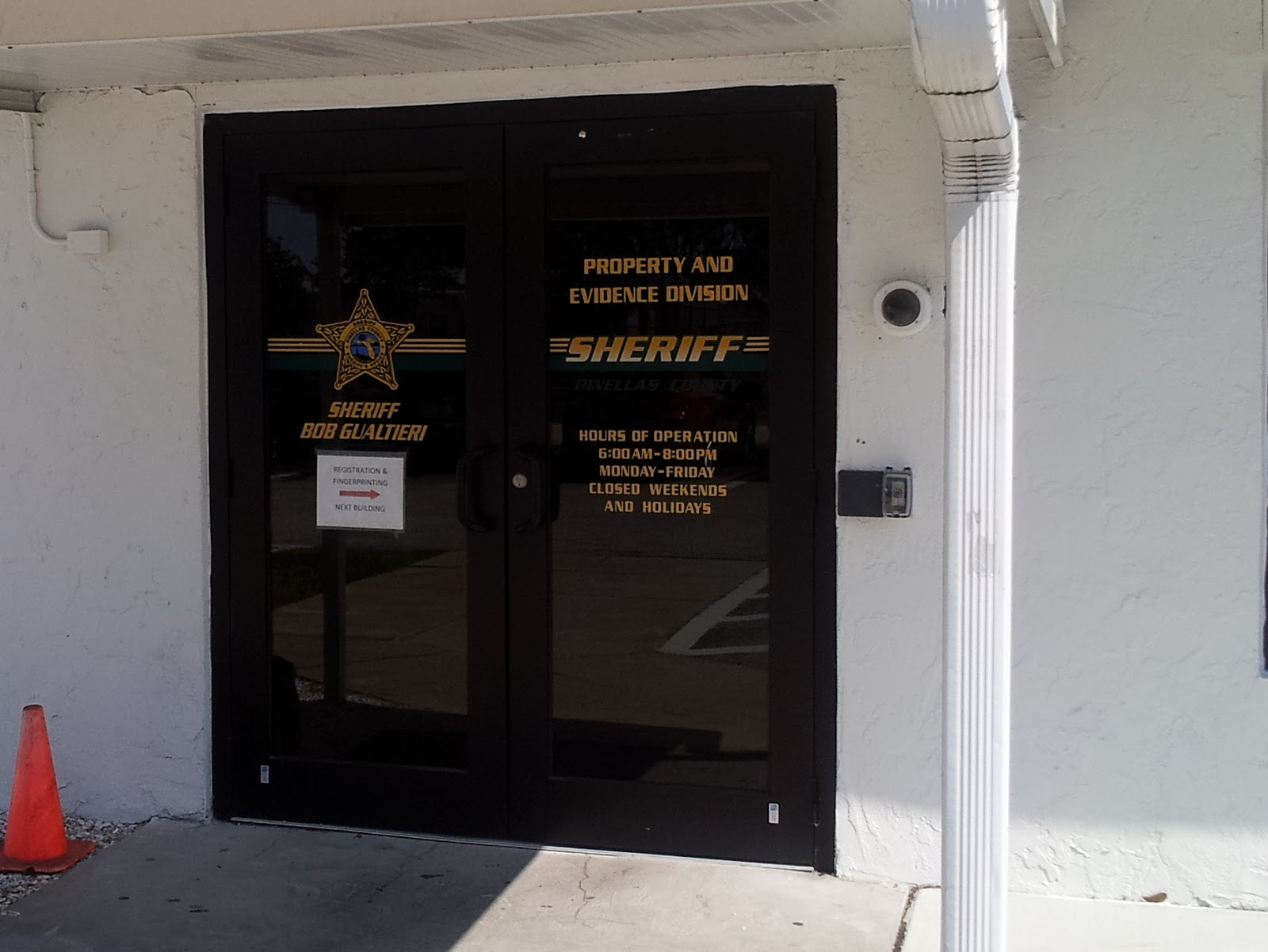 Pinellas County Sheriff Evidence Unit - Law Office of W F