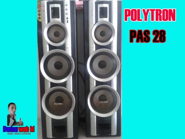 Speaker Aktif Polytron PAS 28Si Klasik Bersuara Yahud