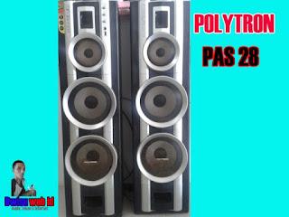 Speaker Aktif Polytron PAS 28,Si Klasik Bersuara Yahud