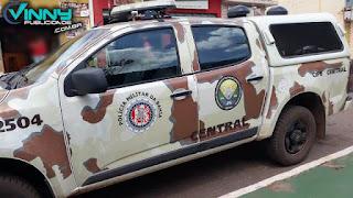 Jovem preso pela polícia em Tanhaçu