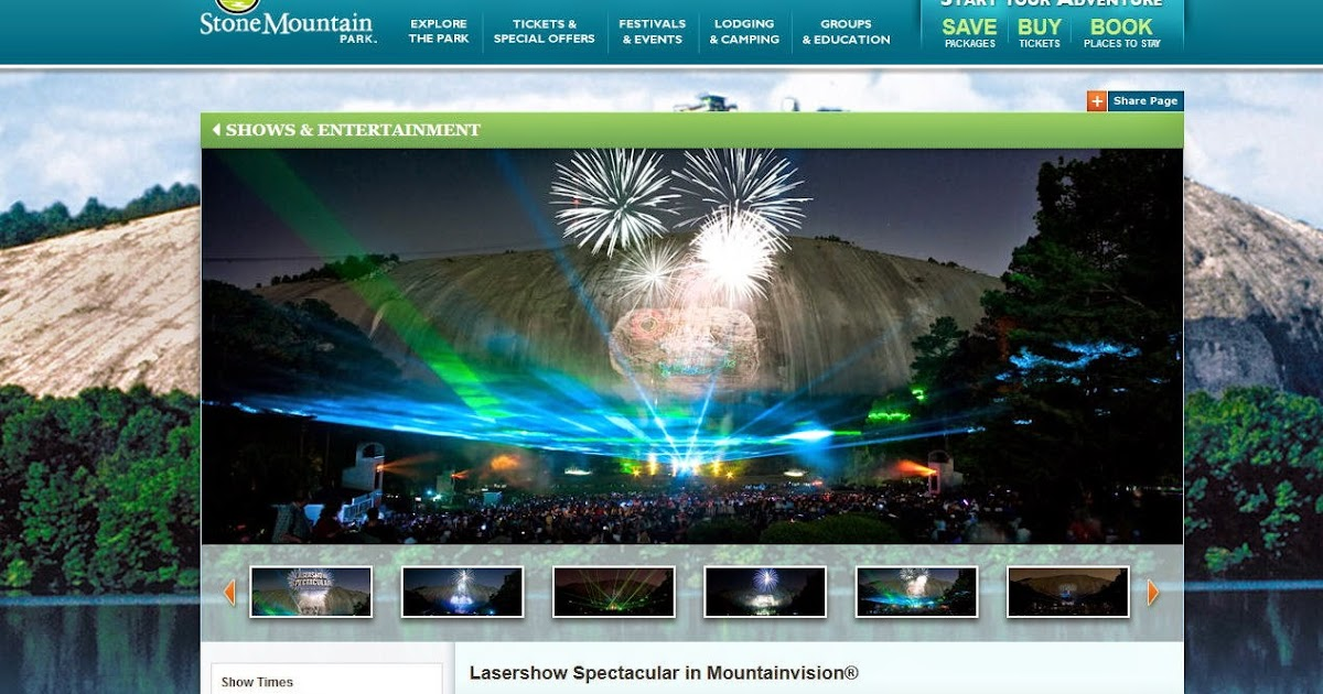 Next Stop Decatur Stone Mountain Lasershow For 2014