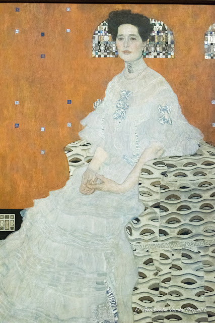 Gustav Klimt: Retrato de Fritza Riedler - Belvedere Museum, Viena