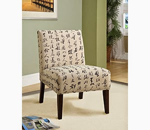 Chairs accent Asian style
