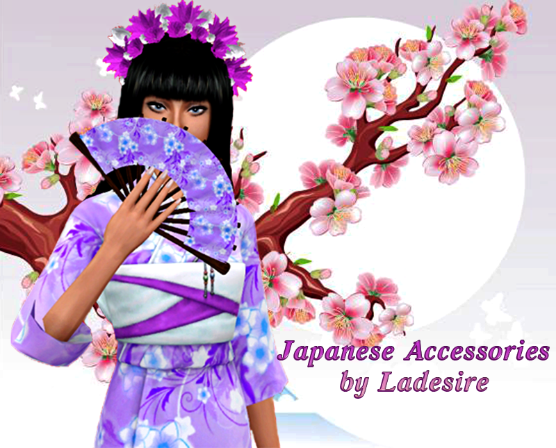 My Sims 3 Blog Japanese Accessories By Ladesire