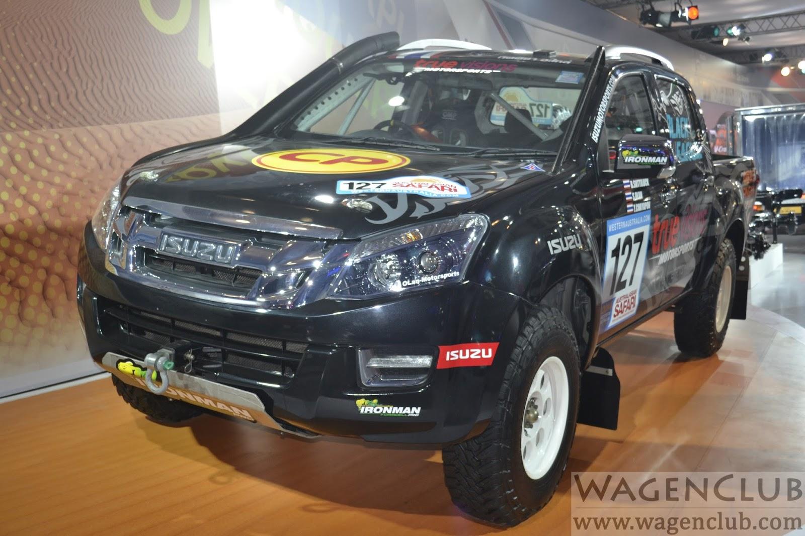 Isuzu d max rally edition image gallery