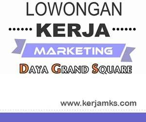 Lowongan Kerja Marketing di Daya Grand Square